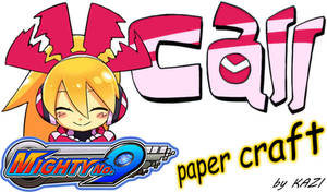 Mighty No. 9 Call paper-craft GUIDE