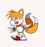 Sonic Mania - Preorder Trailer Gif (Tails)