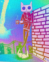 Dead Rejects Coffee Trippy Gif by Spaceoutthrasher