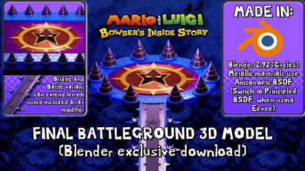 (Blender Cycles) Final Battleground Model Download