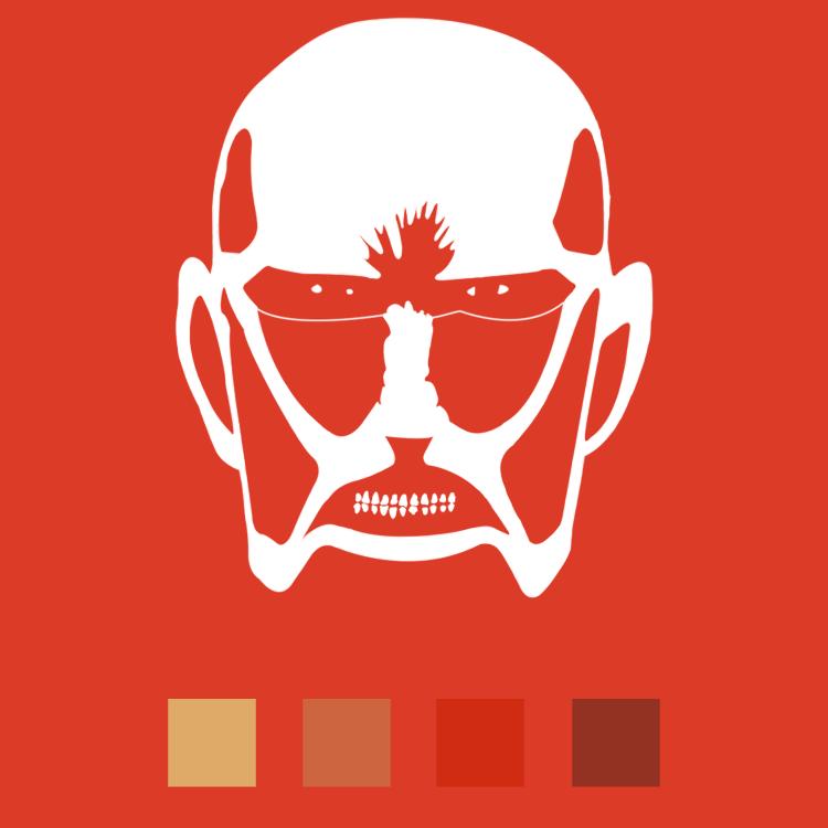 Shingeki No Kyojin Minimalistic Wallpaper Pack By Elbichopt On