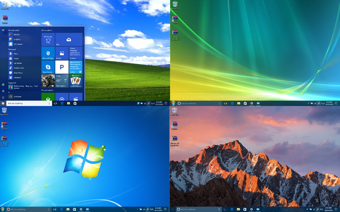 Windows 10 AU Theme Collection by New-Founding-Fathers on ...