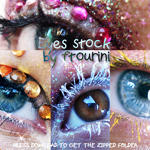 Eyes stock pack by ftourini