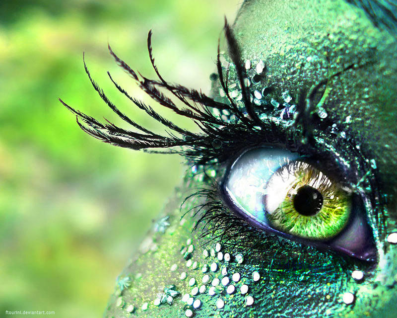 eye am a green fairy by ftourini