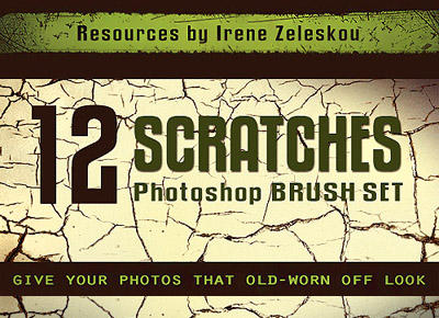 scratches brush pack