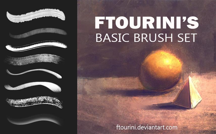 Ftourini Basic Painting Brushset