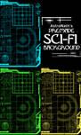 Sci-Fi Premade Background