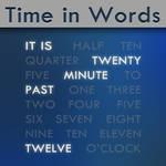 Time in Words -old version-