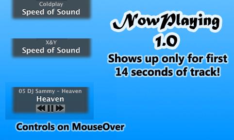 NowPlaying 1.0 by manci5