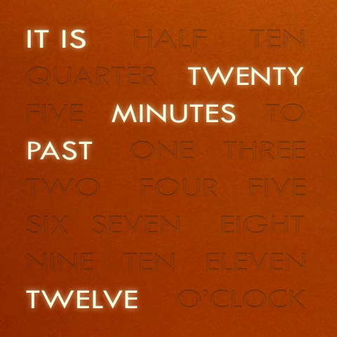 Time In Words 1.2 By Manci5 ...