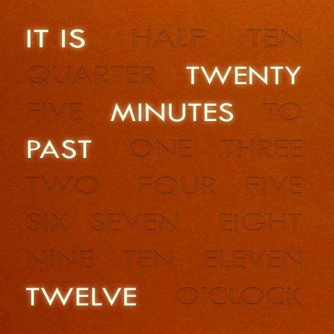 Time in Words 1.2