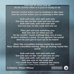 Lyrics! by manci5