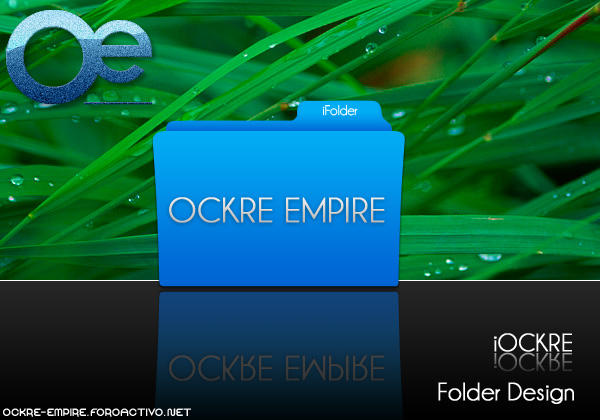 Folder PSD Mac OS by ockre