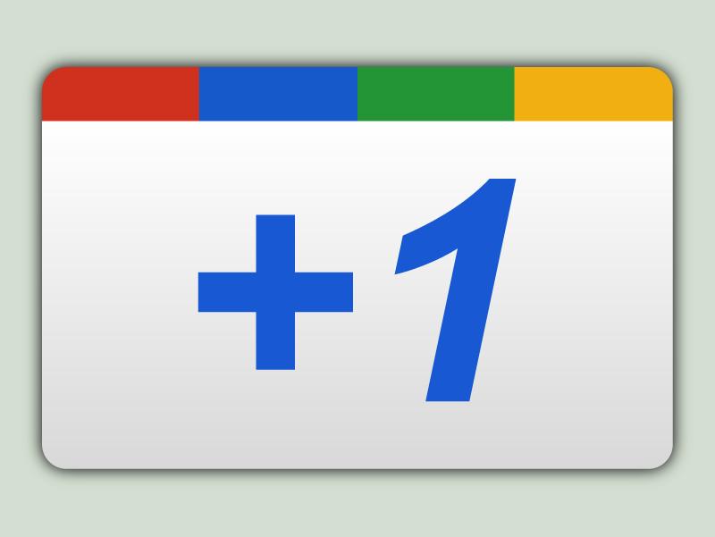 Google +1 Button PNG AI