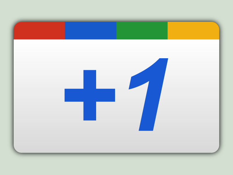 Google +1 Button PNG AI by ockre