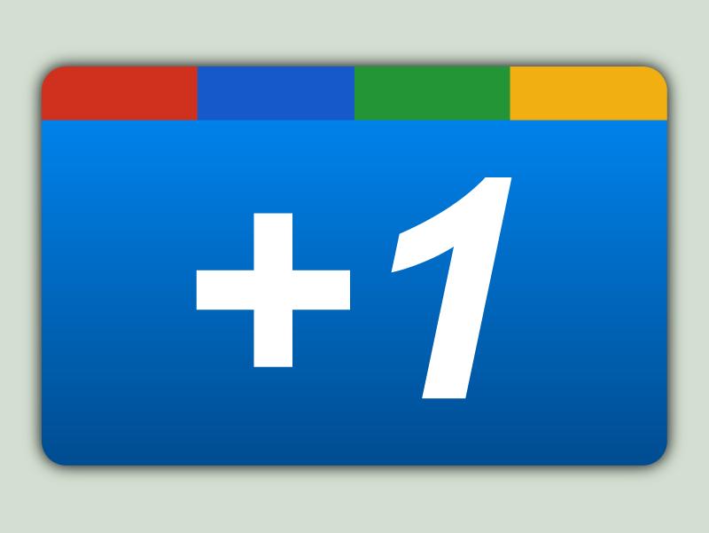 Google +1 Button V2 PNG AI