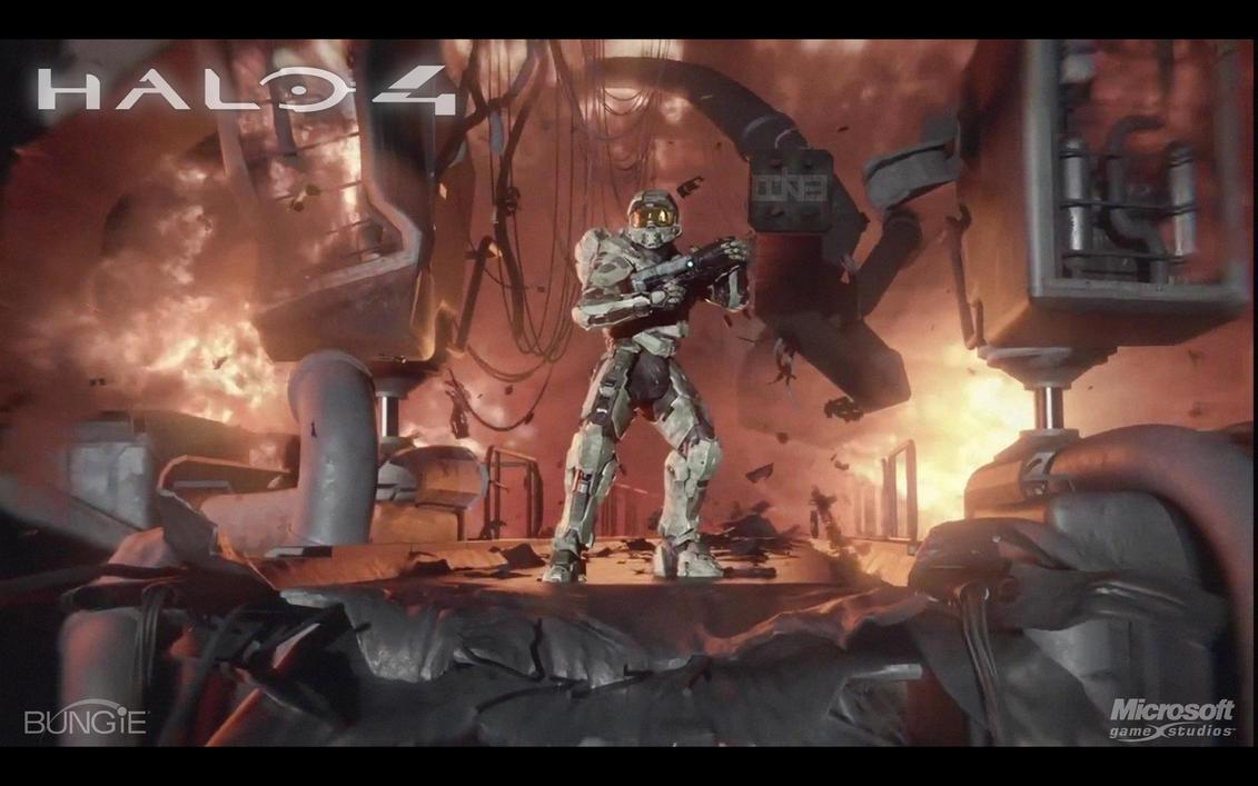 Halo 4 Wallpaper 2 HD By Ockre