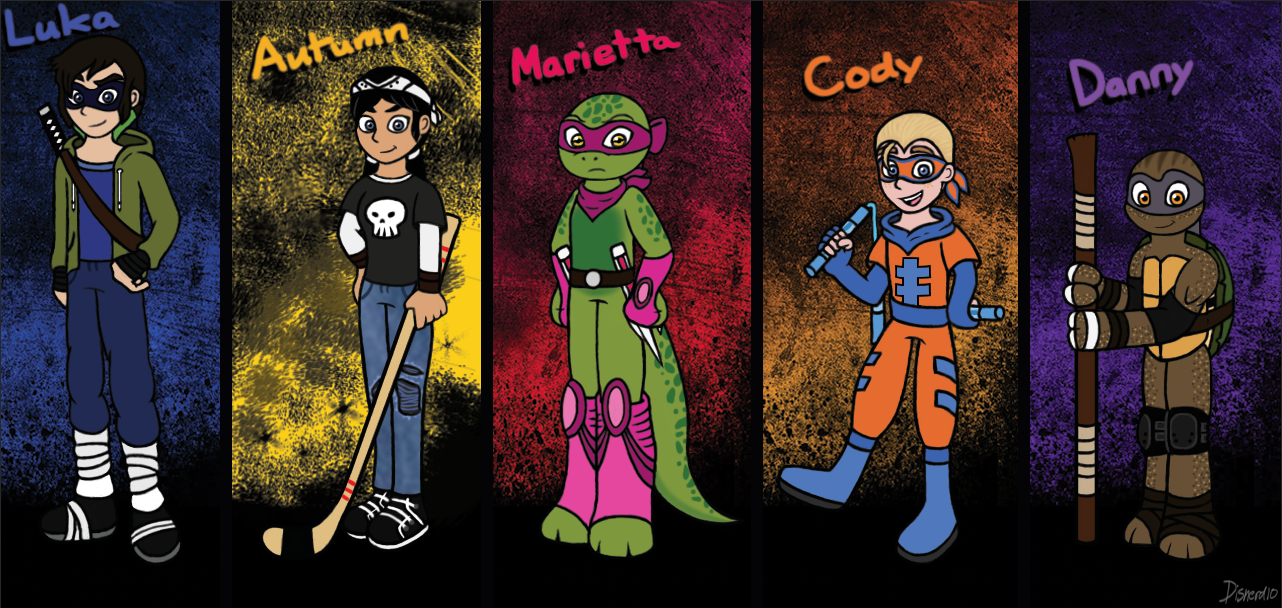 TMNT Next Gen Kids by Infinity-Drawings