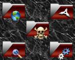 Blood Folder Icons