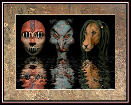 A Gallery of Masks by Xnap