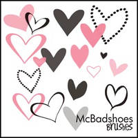 Hearts by mcbadshoes
