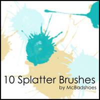 Splatter 2 by mcbadshoes