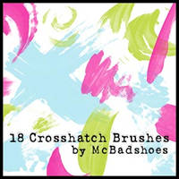 Crosshatch Brushes by mcbadshoes