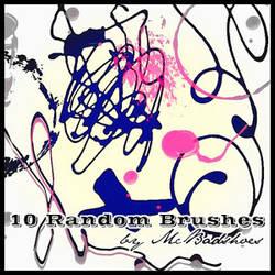 Random Brushes by mcbadshoes