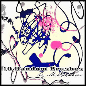 Random Brushes by mcbadshoes
