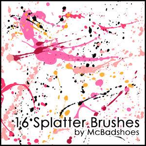 Splatter 4 by mcbadshoes