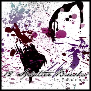 Splatter 5 by mcbadshoes