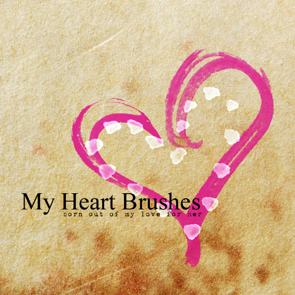 My Heart Brushes by mcbadshoes on DeviantArt