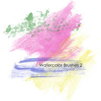 Watercolor Brushes 2 by mcbadshoes