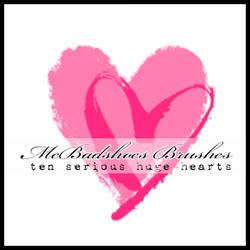 McBad Big Hearts by mcbadshoes