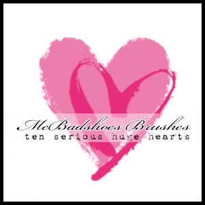 McBad Big Hearts by mcbadshoes