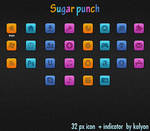 Sugar punch Dock Icons
