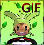 Chespin Harimaron 3DMascotte [blendfile available]