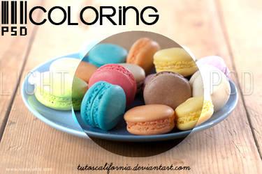 ~PSD Coloring { 1 } by TutosCalifornia