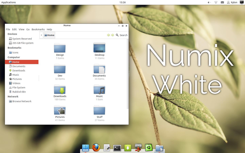 Numix White: Gtk Theme v1.4