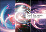 Swirly Light Textures II