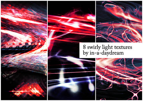 Swirly Light Textures III