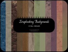 Scrapbooking backgrounds by dethitastock