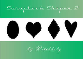 Scrapbook shapes 2 by Willowkins