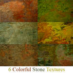 6 Colorful Stone Textures