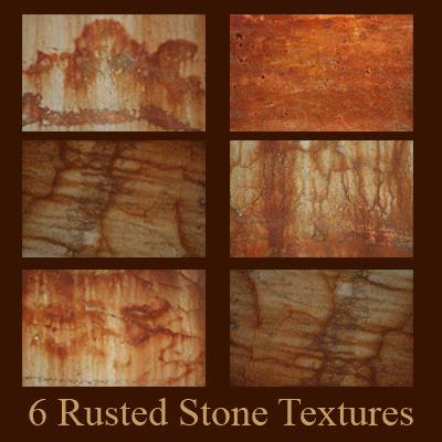 6 Rusted Stone Textures