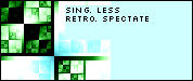 sing. less retro. spectate by vanish