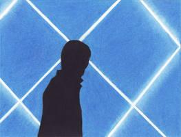Blue Guy by MyHeadWonders