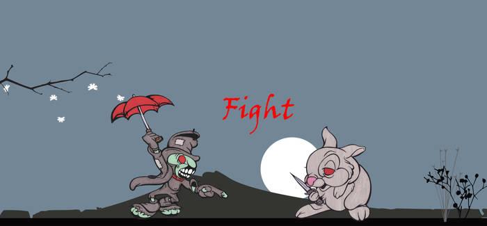 Disney Fight Scene by MyHeadWonders