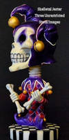 Skeletal Jester by FollowinTheBlackBird