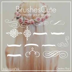 BrushesCute by ImUnicornPink